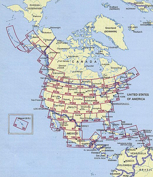Atlas USACanada Mexico - Atlas map of usa and canada